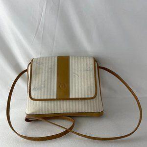 Vintage FENDI Stripe Crossbody Bag